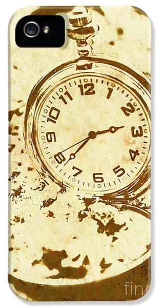 Time Worn Vintage Pocket Watch IPhone 5 Case