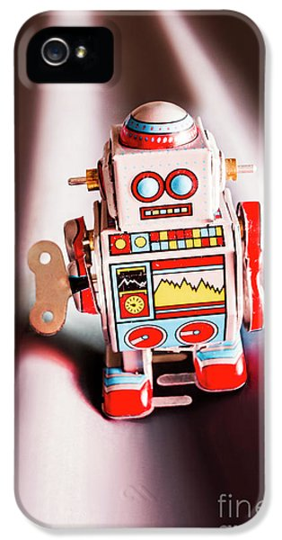 Tin Toys From 1980 IPhone 5 Case