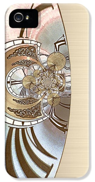 Tinkering - Optimized For Printing On Metallic Paper IPhone 5 Case by Wendy J St Christopher