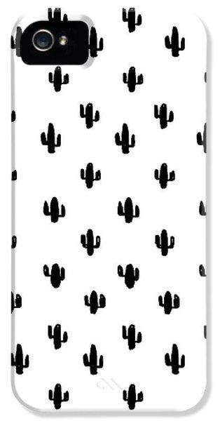 Tiny Cactus IPhone 5 Case by Studio Sananikone