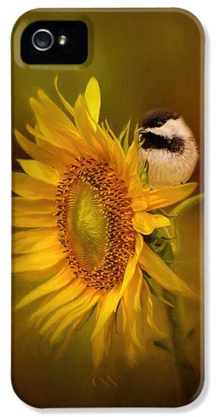 Tiny Surprise Bird Art IPhone 5 Case by Jai Johnson