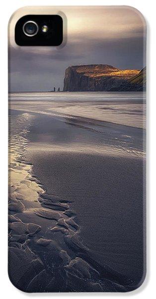 Beach Sunset iPhone 5 Case - Tjornuvik Beach by Tor-Ivar Naess