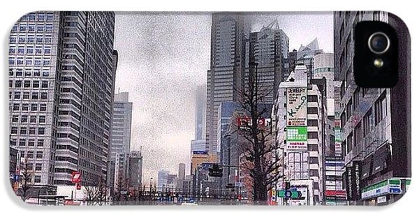 Tokyo Cloudy IPhone 5 Case by Moto Moto