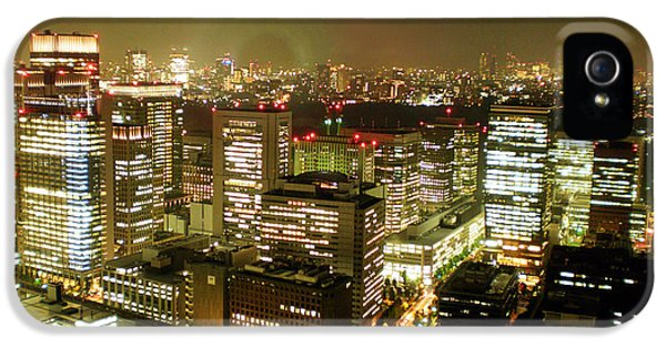 Tokyo Skyline IPhone 5 / 5s Case by Nancy Ingersoll