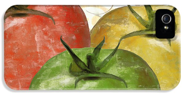 Tomatoes Tomates IPhone 5 Case by Mindy Sommers