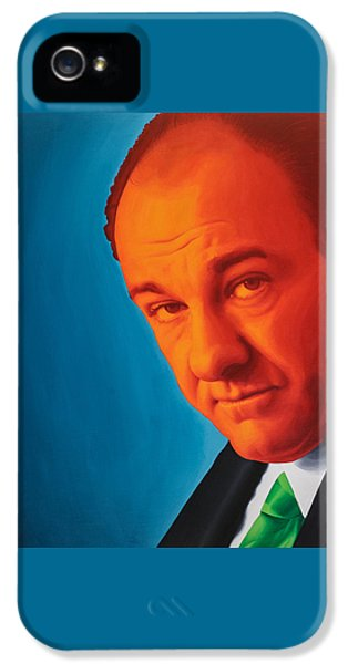 Tony Soprano IPhone 5 / 5s Case by Ellen Patton