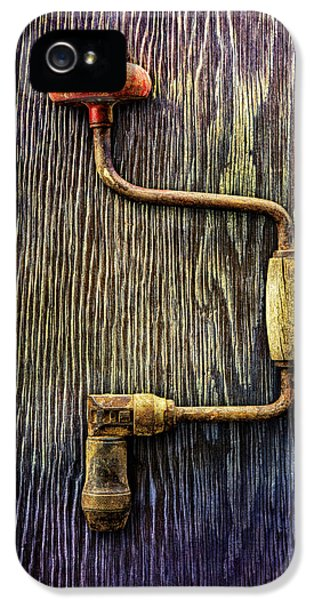 Tools On Wood 58 IPhone 5 Case by YoPedro