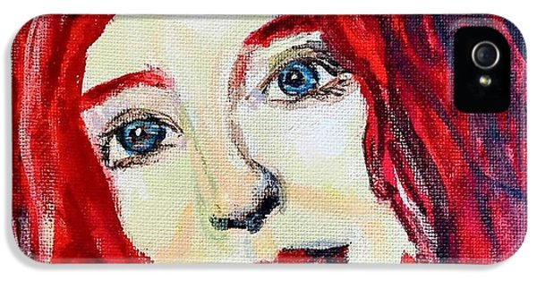 Tori Amos Red IPhone 5 Case