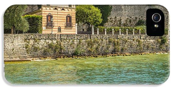 Torri Del Benaco Scaliger Castel IPhone 5 Case by Melanie Viola