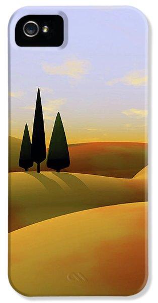 Landscape iPhone 5 Case - Toscana 3 by Cynthia Decker