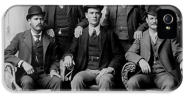 Tough Men Of The Old West 2 IPhone 5 Case