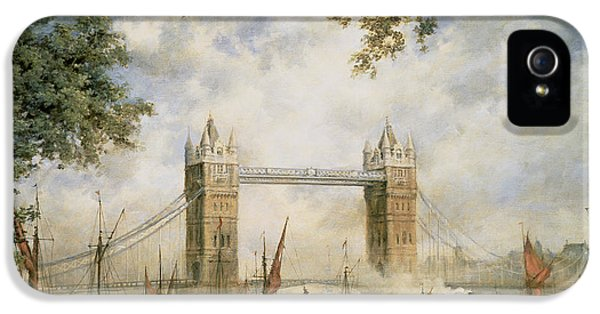 Tower Bridge - From The Tower Of London IPhone 5 Case by Richard Willis