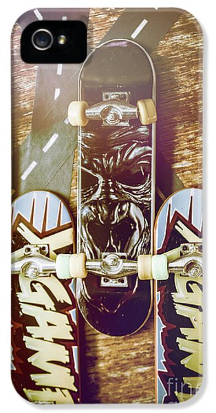 Toy Skateboards IPhone 5 Case by Jorgo Photography - Wall Art Gallery