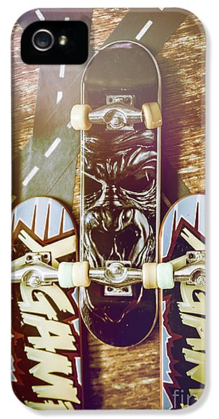 Truck iPhone 5 Case - Toy Skateboards by Jorgo Photography - Wall Art Gallery
