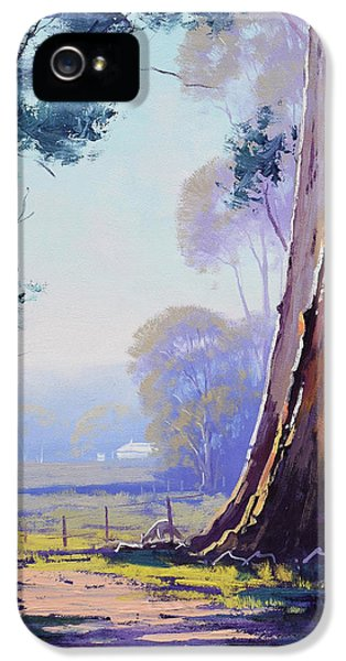 Kangaroo iPhone 5 Case - Track To The Farm by Graham Gercken
