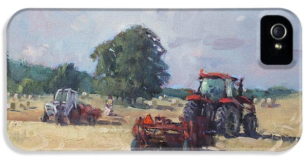 Tractors In The Farm Georgetown IPhone 5 Case