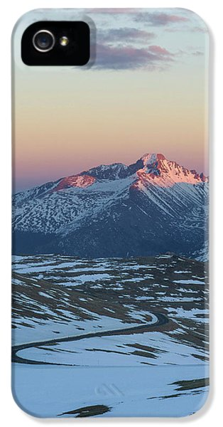 IPhone 5 Case featuring the photograph Trail Ridge Road Vertical by Aaron Spong