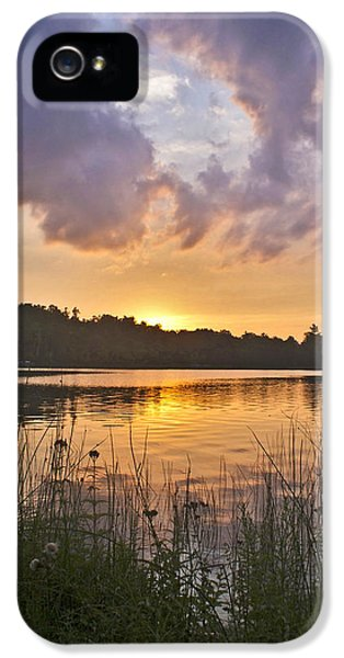 Tranquil Sunset On The Lake IPhone 5 Case