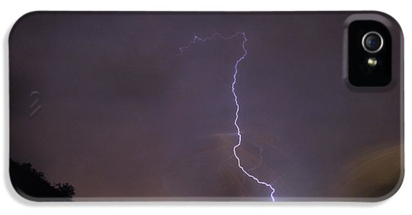 IPhone 5 Case featuring the photograph It's A Hit Transformer Lightning Strike by James BO Insogna