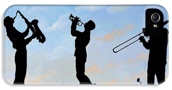Trumpet iPhone 5 Case - tre by Guido Borelli