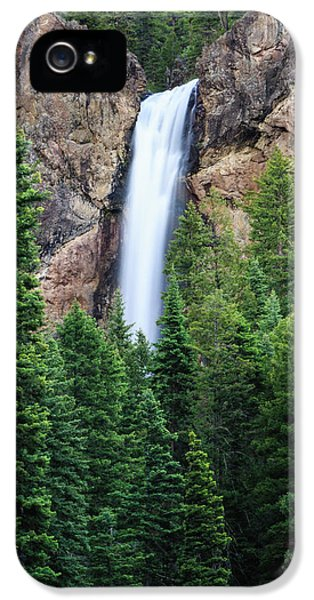 IPhone 5 Case featuring the photograph Treasure Falls by David Chandler