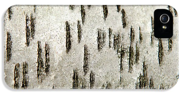 IPhone 5 Case featuring the photograph Tree Bark Abstract by Christina Rollo