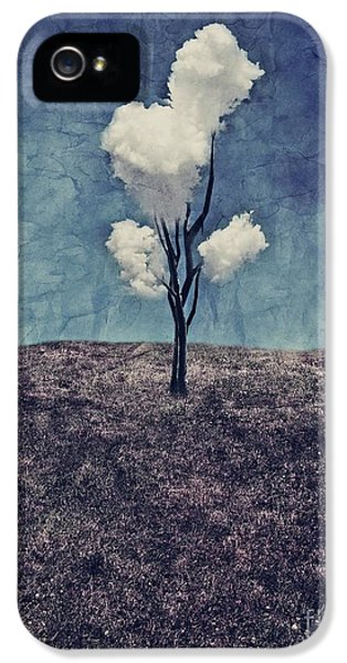 Surrealism iPhone 5 Case - Tree Clouds 01d2 by Aimelle