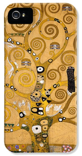 Tree Of Life IPhone 5 Case by Gustav Klimt