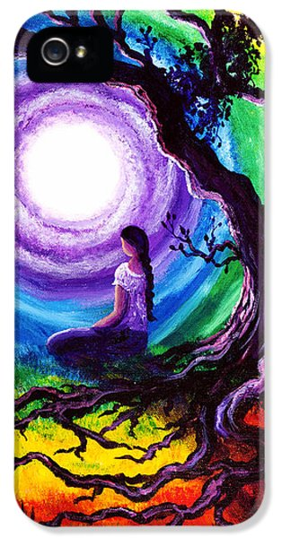 Tree Of Life Meditation IPhone 5 / 5s Case by Laura Iverson