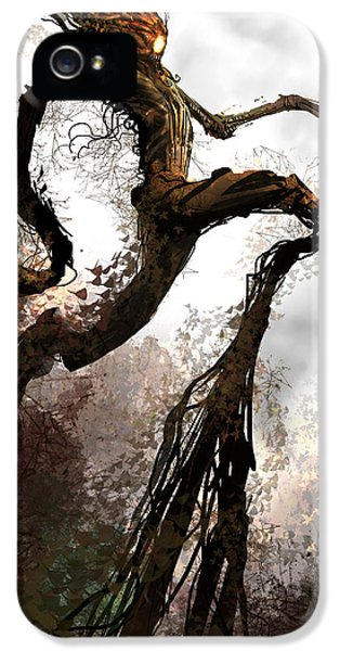 Treeman IPhone 5 Case by Alex Ruiz