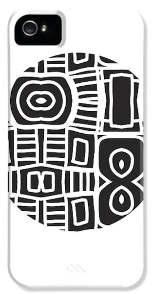 Tribal Ball- Art By Linda Woods IPhone 5 Case