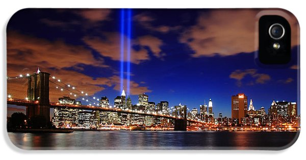 Tribute In Light IPhone 5 Case by Rick Berk