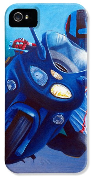 Triumph Sprint - Franklin Canyon  IPhone 5 Case by Brian  Commerford