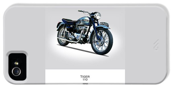 Triumph Tiger 110 1956 IPhone 5 / 5s Case by Mark Rogan