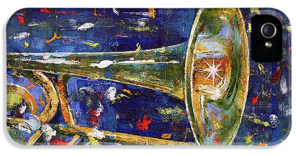 Trombone iPhone 5 Case - Trombone by Michael Creese