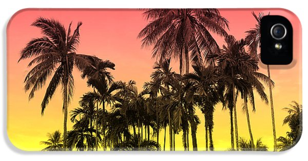 Day iPhone 5 Case - Tropical 9 by Mark Ashkenazi