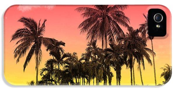 Tropical 9 IPhone 5 Case by Mark Ashkenazi