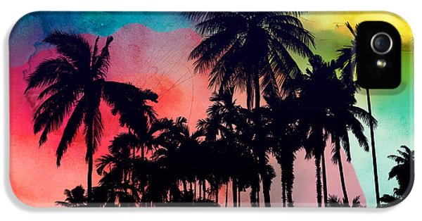 Tropical Colors IPhone 5 Case