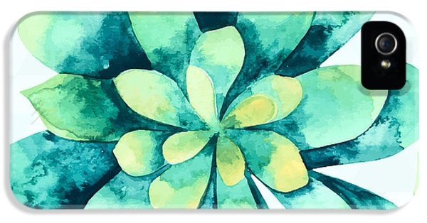 Tropical Flower  IPhone 5 Case by Mark Ashkenazi