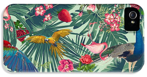 Tropical Fun Time  IPhone 5 / 5s Case by Mark Ashkenazi
