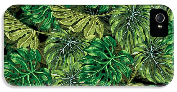 Tropical Haven 2 IPhone 5 Case by Mark Ashkenazi