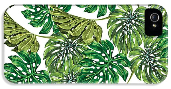 Tropical Haven  IPhone 5 Case by Mark Ashkenazi