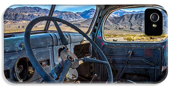 Truck Desert View IPhone 5 Case by Peter Tellone