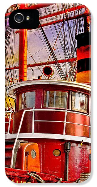 Tugboat Helen Mcallister IPhone 5 Case by Chris Lord