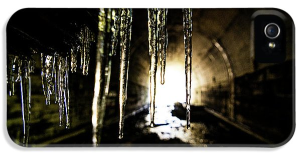 Dungeon iPhone 5 Case - Tunnel Icicles by Pelo Blanco Photo