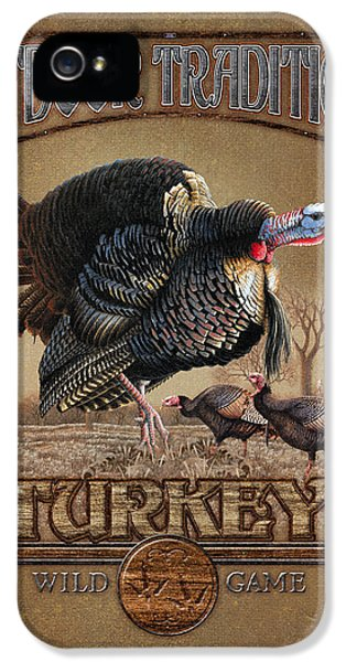 Turkey iPhone 5 Case - Turkey Traditions by JQ Licensing