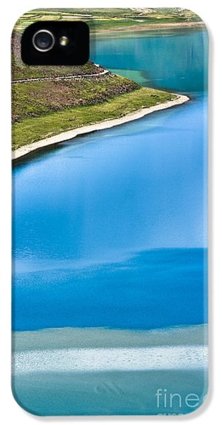 Turquoise Water IPhone 5 Case by Hitendra SINKAR