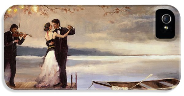 Violin iPhone 5 Case - Twilight Romance by Steve Henderson