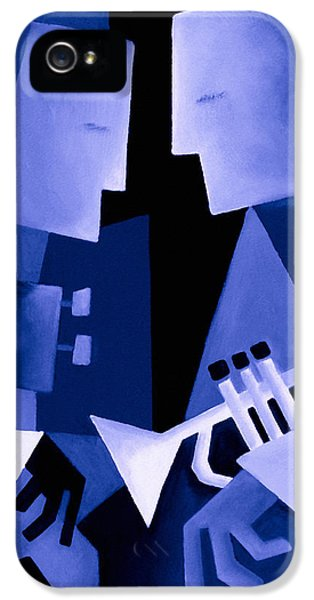 Two For The Blues IPhone 5 Case