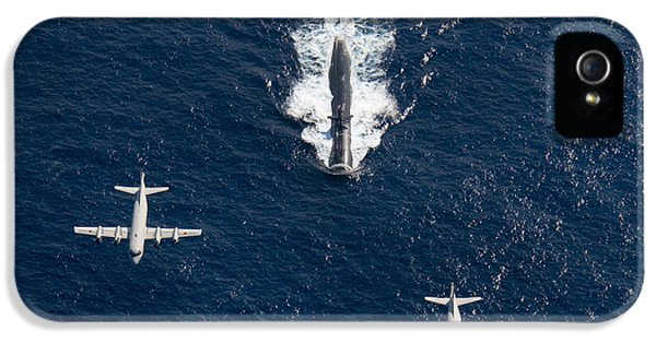 Two P-3 Orion Maritime Surveillance IPhone 5 Case by Stocktrek Images